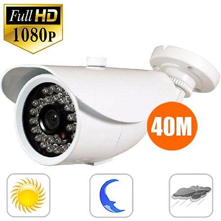 Camera Ip Full Hd Externa Infra 2 Megapixel 1080p Onvif P2p