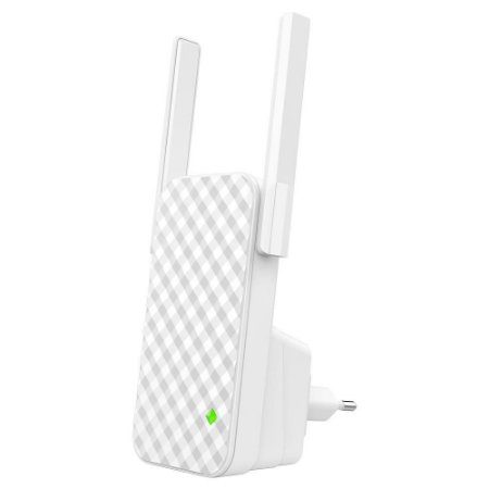 Repetidor Wifi 300mbps Extensor Sinal 2 Antenas Externas A9 Tenda