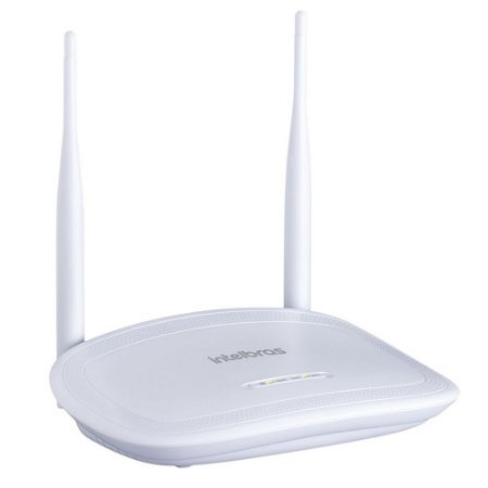 Roteador Wireless Intelbras 2 Antenas 300mbps Ipv6 IWR 3000N