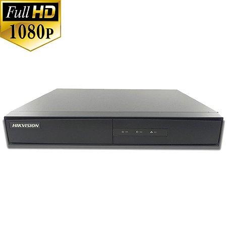 Dvr Hikvision 4 Canais Full HD DS-7204HQHI-K1 1080p 4MP Lite