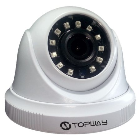 Camera Dome Full HD Topway CDPO(I) IR 15M 2,8mm 4 em 1