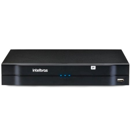 Nvr Intelbras 8 Canais Full HD 2MP para Camera IP, Onvif, Audio, Cloud, P2P NVD 1208