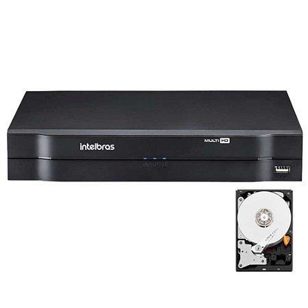 Dvr Intelbras 8 canais Mhdx 1108 Multi HD + HD 3TB