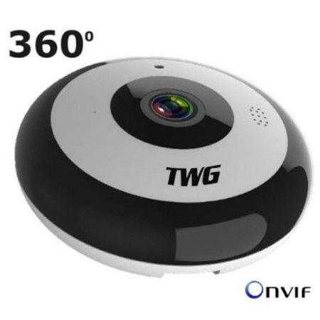 Camera IP Wifi Full HD Wireless 360 Fisheye Onvif TW-9225 FY
