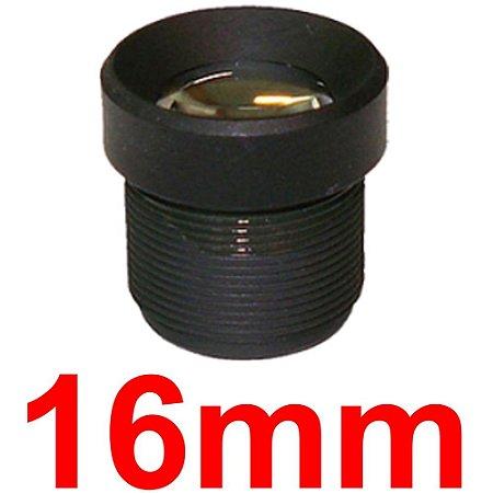 Mini Lente 16mm Para Mini Câmera e Micro Câmera