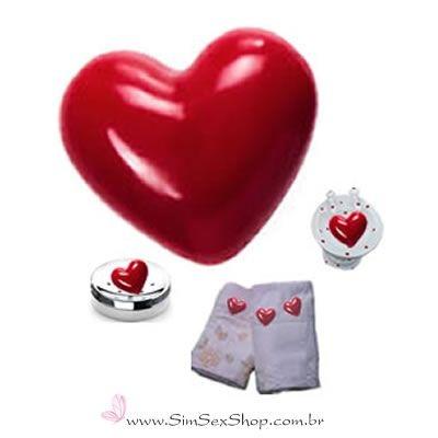 Mini sabonete coração perfumado 30 g