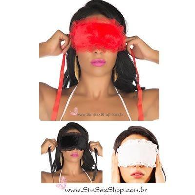Venda Tapa olhos em tecido aveludado Pimenta Sexy