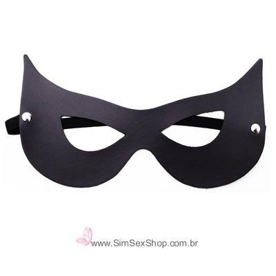 Máscara mulher gato DominatriXxx preta