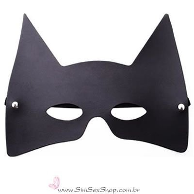 Máscara Batman Preta Dominatrixxx