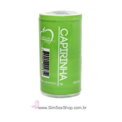 Bolinha sensual Drink Especial Caipirinha óleo lubrificante beijável com 2 unidades