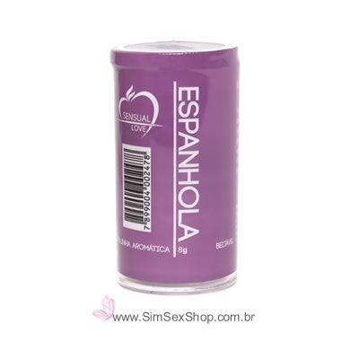 Bolinha sensual Drink Especial Espanhola óleo lubrificante beijável com 2 unidades