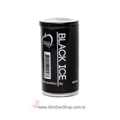 Bolinhas de óleo excitante Black Ice função esfria com 2 unidades