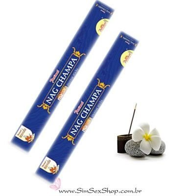 Incenso indiano sticks Nag Champa 8 unidades