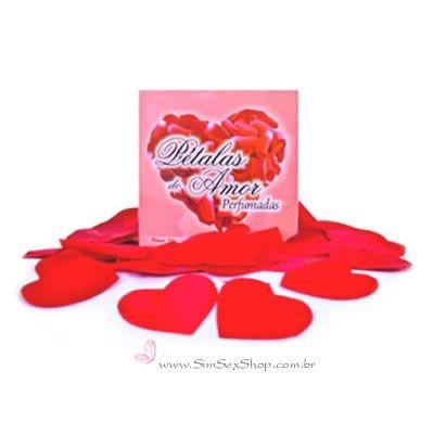 Pétalas de rosas perfumadas com 100 unidades
