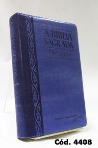 Bíblia Gigante - Uva/Lilás - Letra Hiper Legível