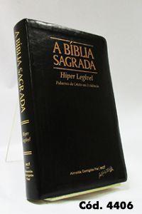 Bíblia Gigante - Preta - Letra Hiper Legível