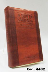 Bíblia Gigante - Chocolate/Havana - Letra Hiper Legível