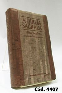 Bíblia Gigante - Cortiça/Madeira - Letra Hiper Legível