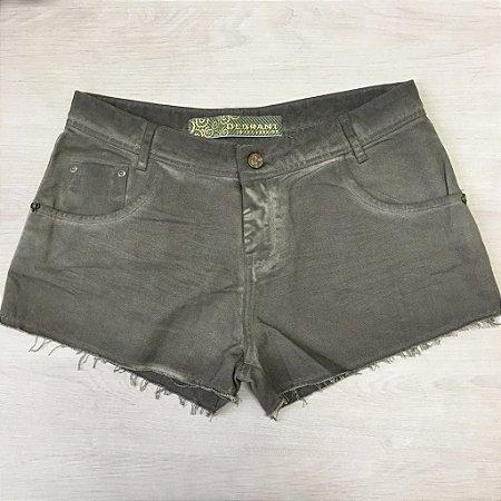 Short Jeans Verde Militar Degrant