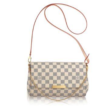 Bolsa Louis Vuitton Damier Azur Favorite