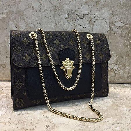 Bolsa Louis Vuitton Black Victoire