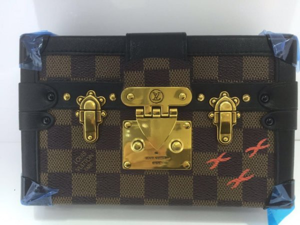 Bolsa Louis Vuitton Petite Malle Damier Ebene