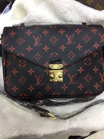 Bolsa Louis Vuitton Pochette Métis Red