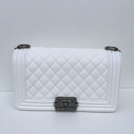 Bolsa Chanel Boy Media 25cm