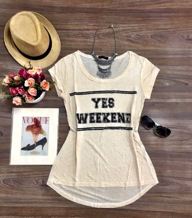 T Shirt Yes Weekend