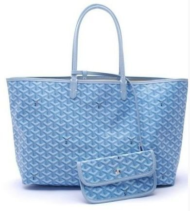 Bolsa Goyard St. Louis Light Blue