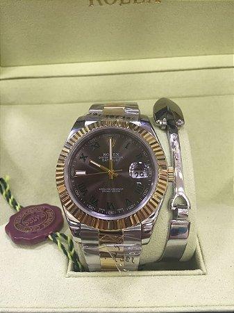 Relógio Rolex Superlative Chronometer Officially