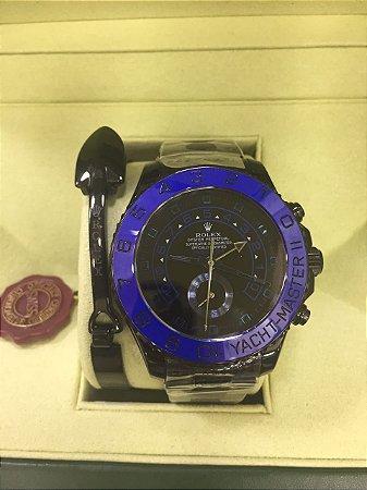 Relógio Rolex Yacht Master PVD
