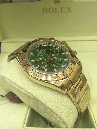 Relógio Rolex Daytona Dourado