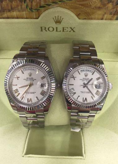 Relógio Rolex Datejust Prata