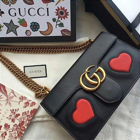 Bolsa Gucci Marmont Matelasse Menor