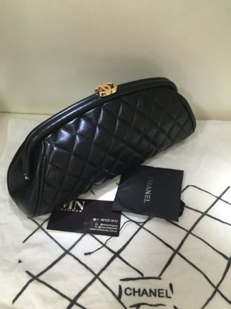 Bolsa Clutch Chanel Timeless
