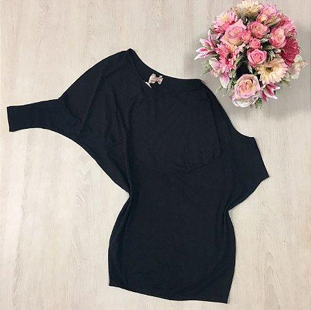 Blusa Ombro Caído Black
