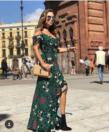 Vestido Longo Green M.a