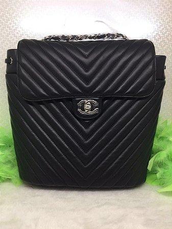 Mochila Black Chanel