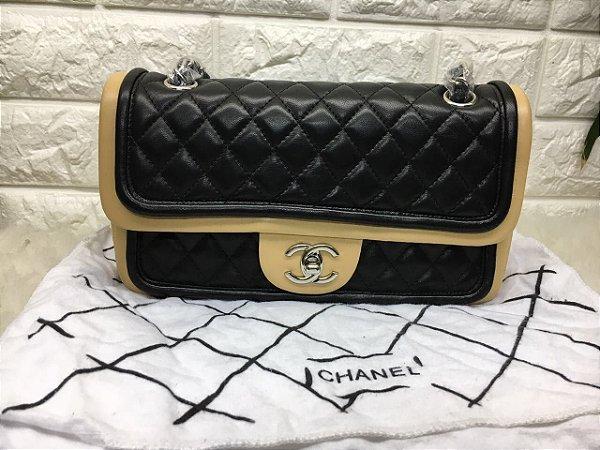 Bolsa Chanel Black Correntes