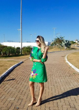 Vestido Green Malagueta