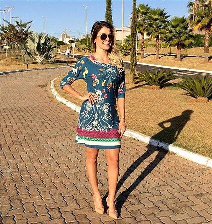 Vestido Detalhes Malagueta
