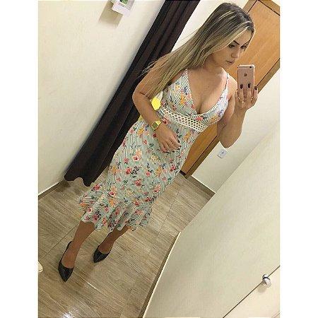 Vestido Sereia Neoprene Amanda