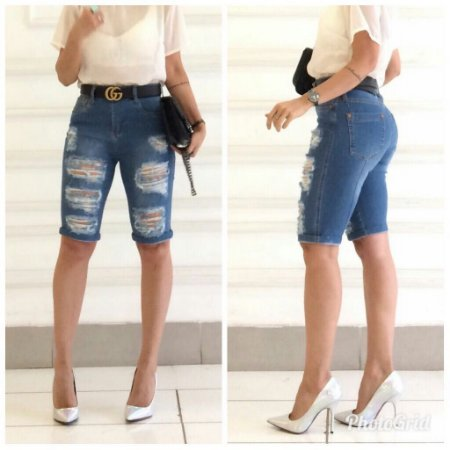 Bermuda jeans Destroyed Bebella