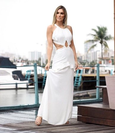 Vestido Longo Isabel Closet