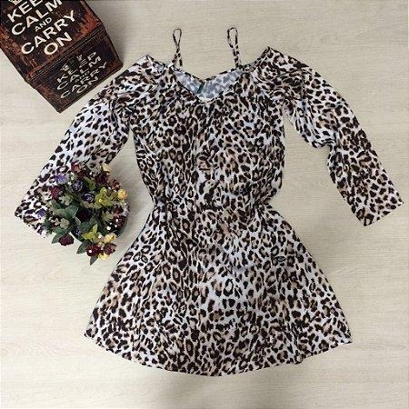 Vestido Onça de Seda