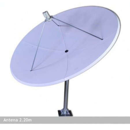 Antena Parabólica de Fibra 2,20 m Lerosat