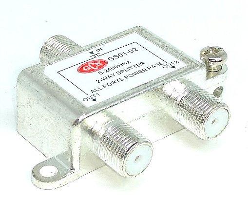 Chave Divisora De Alta Frequência 2x1 - GCN