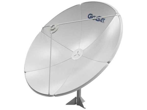 Antena Parabólica De Chapa Gigasat 150 Cm Banda C E Ku