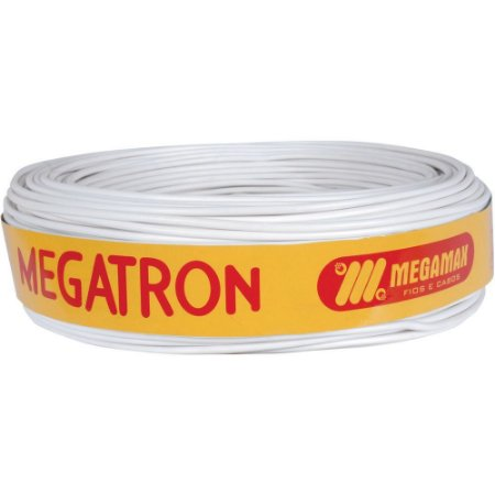 Cabo Coaxial RG6 Malha 95% Rolo 100 Metros Megatron